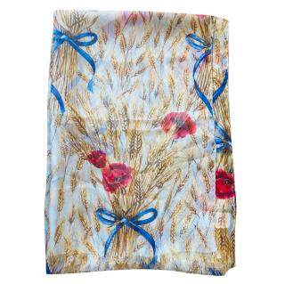 Dolce & Gabbana  floral print silk scarf wrap sarong