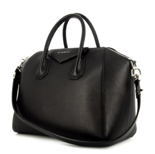 Givenchy Black Large Antigona Tote Bag