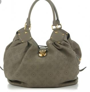 LOUIS VUITTON green leather Mahina bag