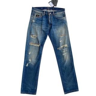 Philipp Plein men's buggy cut jeans