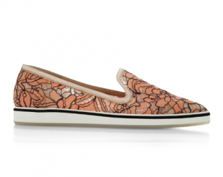 Nicholas Kirkwood Lace Microsole Loafer In Orange