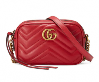 Gucci Gg Marmont Matelass� Mini Bag