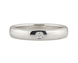 Tiffany & Co. Diamond Set Platinum Men's Wedding Band