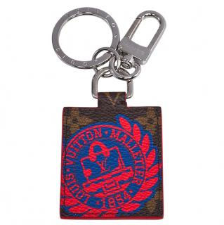 Louis Vuitton Monogram Canvas Illustre Malletier Key Chain