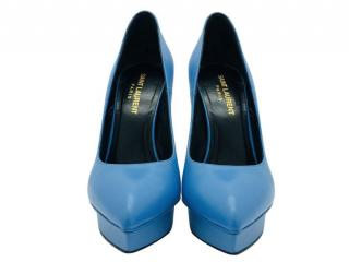 Saint Laurent Blue Janis 105 Pumps
