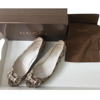 Gucci Supreme Horsebit Loafers