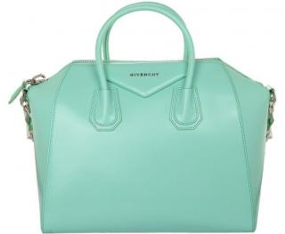Givenchy Medium Antigona Bag In Mint Green