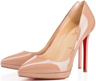 Christian Louboutin Nude Pigalle Plato Pumps
