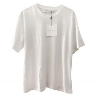Victoria Victoria Beckham white silk t shirt