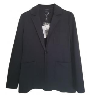 Max Mara Navy Tailored Jacket