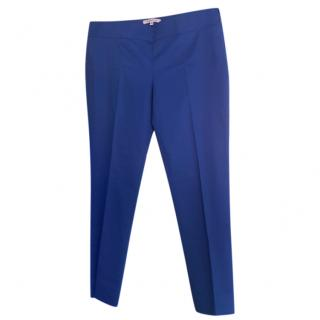 Max Mara Blue Tapered Pants