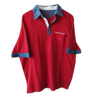 Stefano Ricci Red Limited Edition Polo Shirt