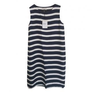 Max Mara Striped Sleeveless Dress