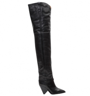 Isabel Marant Lafsten thigh-high leather boots