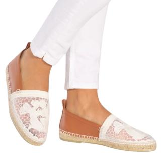 Loewe lace embroidered espadrilles
