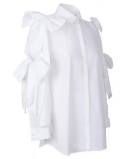 Anne Fontaine Mascarade White Poplin Shirt