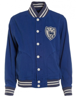 Polo Ralph Lauren First Class Blue Saturn Bomber Jacket