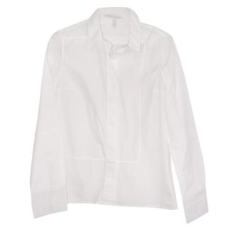 Victoria Beckham White Tailored Blouse