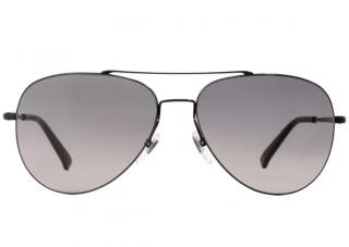 Gucci Black Men's Aviator Sunglasses