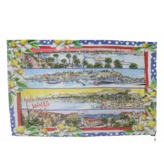 Dolce & Gabbana Cannes Print Wrap Scarf/Sarong