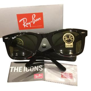 Ray Ban Icons Black Wayfarers