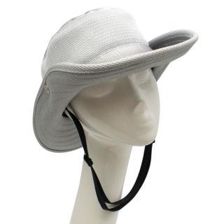 Prada Nylon Silver Boonie Hat
