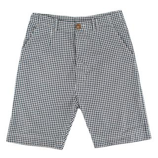 Vivienne Westwood Black & White Cotton Check Shorts