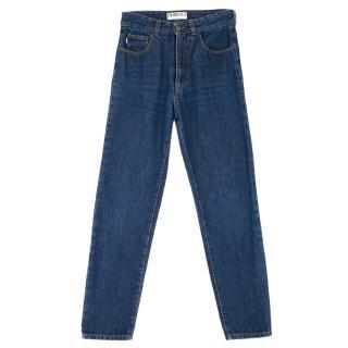 Fiorucci Dark Blue Tara Jeans