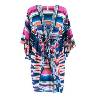 Gottex Multi-Coloured Silk Kaftan