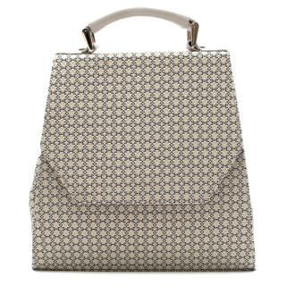 Vivienne Westwood Grey Geometric Top Handle Bag