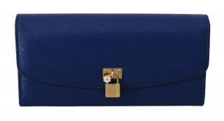 Dolce & Gabbana Blue Continental Wallet