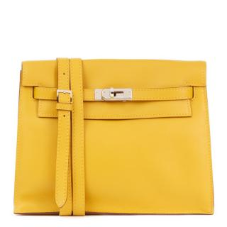 Hermes Kelly Danse in Swift Yellow Leather