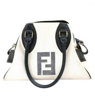 Fendi Canvas FF Tote Bag