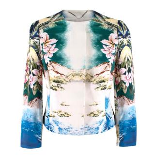 Stella McCartney Cotton Hawaian Print Jacket