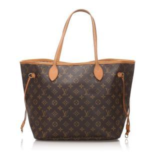 Louis Vuitton Monogram Neverfull MM Tote Bag