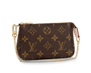 Louis Vuitton Mini Pochette Accessoires in Monogram Canvas
