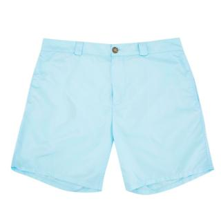 Be Swims Mens Blue Swim Shorts
