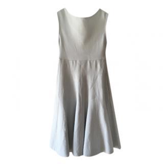 Dior Powder Blue Knit Skater Dress