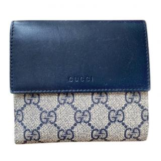 Gucci GG Supreme French Flap Wallet