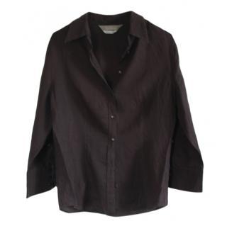 Max Mara Anthracite Linen Shirt