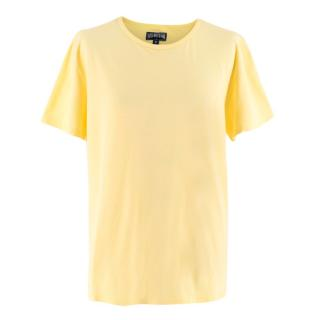 Vilebrequin Yellow Cotton Tshirt