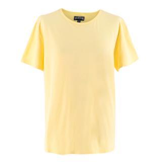 Vilebrequin Yellow Cotton Tshirt