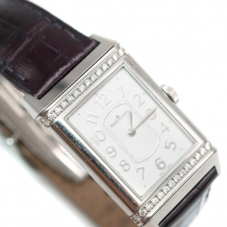 Jaeger LeCoultre Grande Reverso Ultra Thin Diamond Set Watch