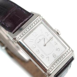 Jaeger LeCoultre Grande Reverso Ultra Thin Diamond Set Watch