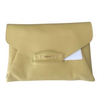 Givenchy Lemon Yellow Envelope Clutch