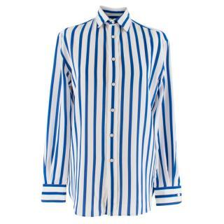 Ralph Lauren Collection Blue & White Striped Shirt