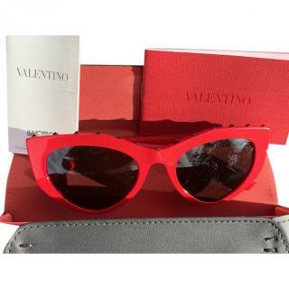 Valentino Red VA4060 Cat-Eye Sunglasses