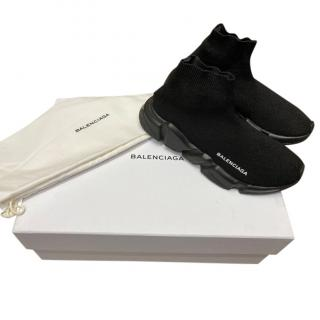 Balenciaga Black Sock Speed Sneakers