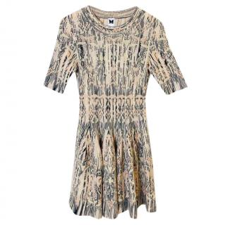 Missoni Wool Blend Knit Skater Dress