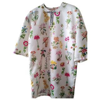 No.21 Donna Crystal Embellished Floral Dress